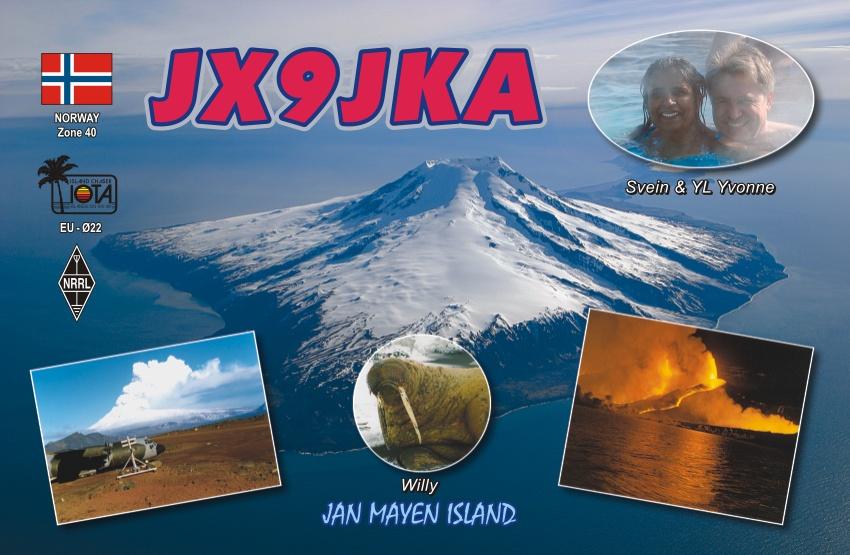 JX9JKA: Jan Mayen Island