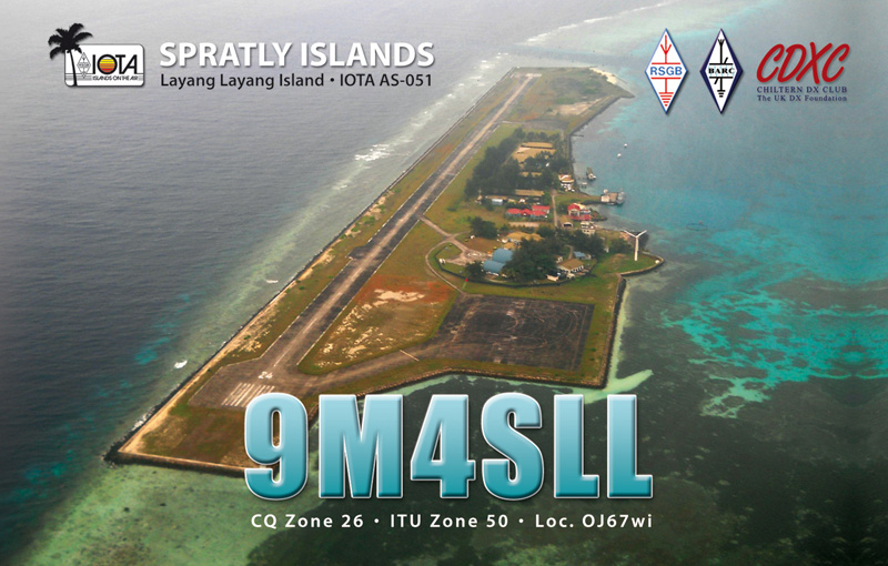 9M4SLL: Spratly Islands