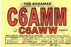 Bahamas: C6AMM in 12 metri