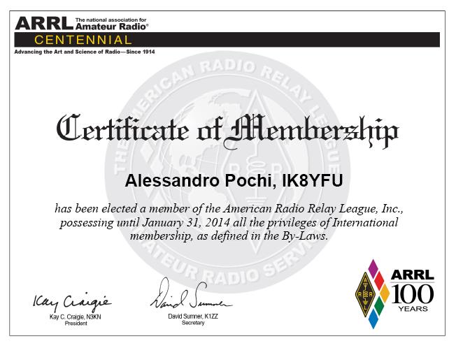 Membership ARRL