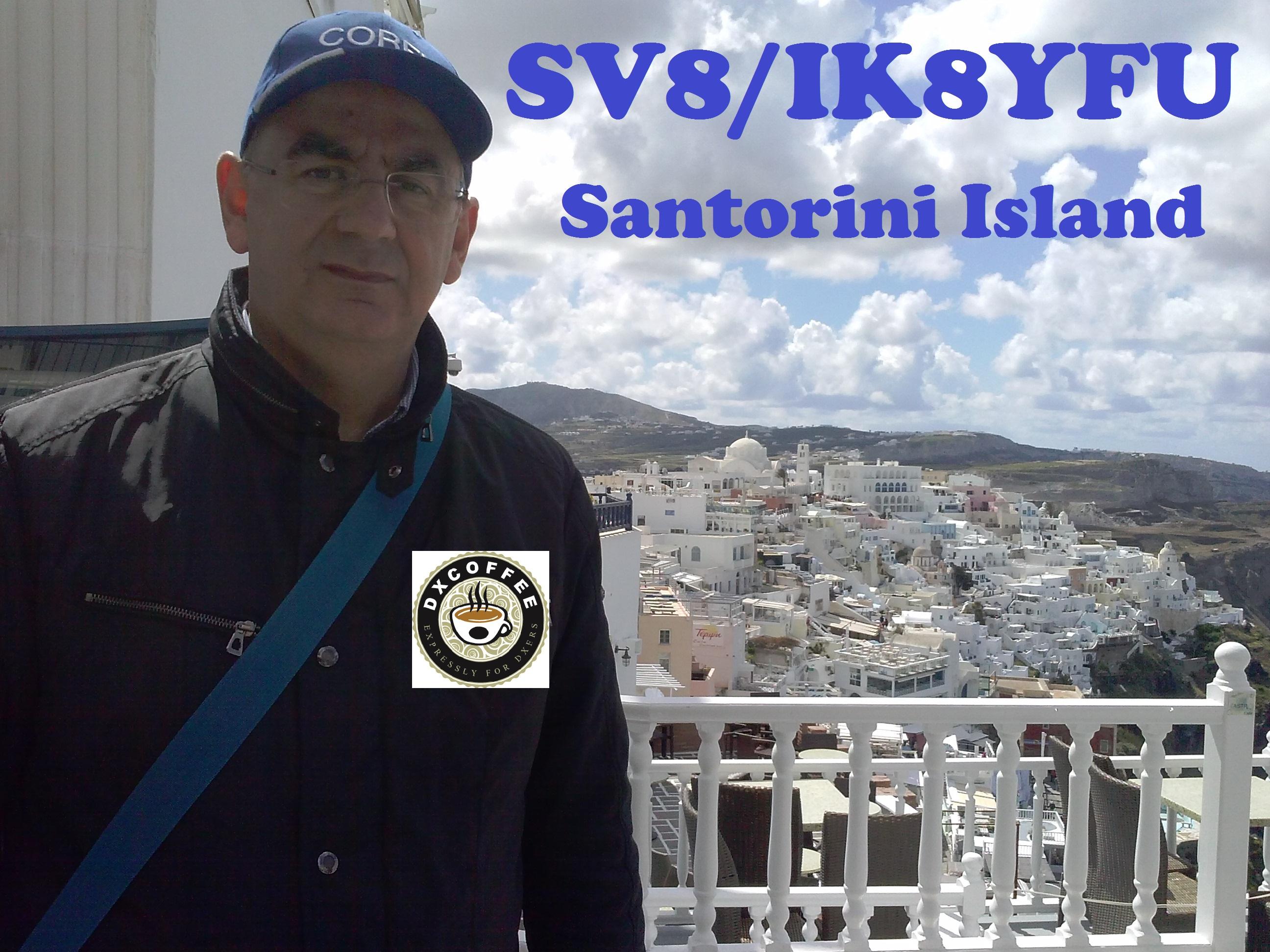 SV8/IK8YFU Santorini Island