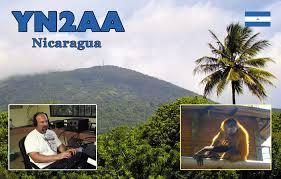 YN2AA: QSL dal Nicaragua