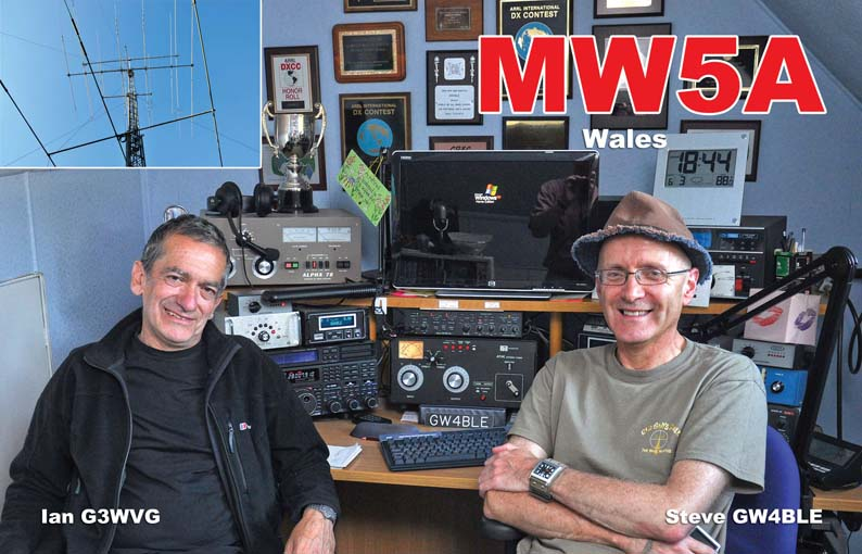 Galles: MW5A in 50 mhz contest