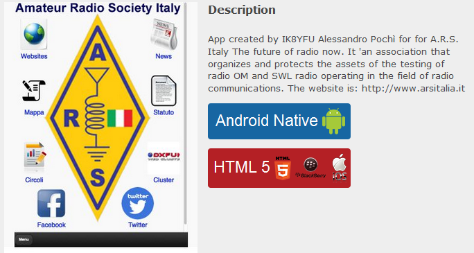 App Android per A.R.S.
